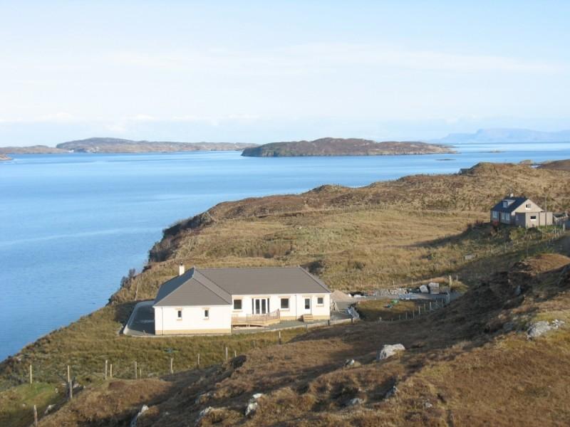 Isle of Skye from Isle of Harris