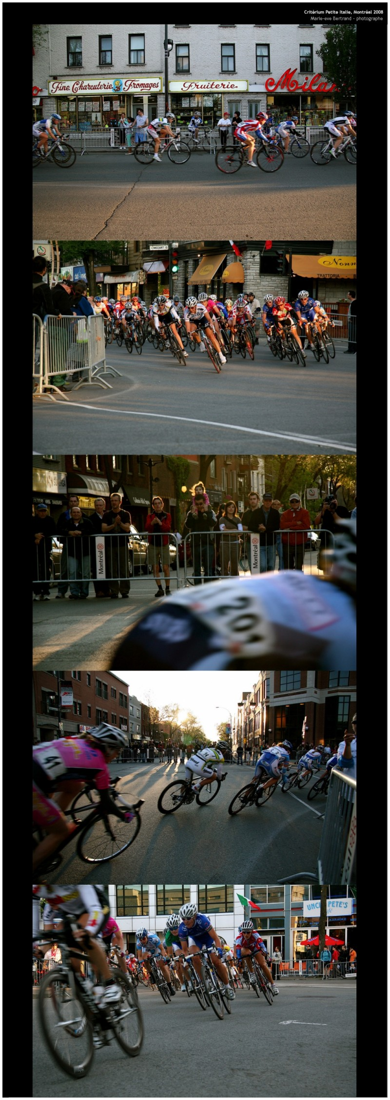 Critérium Petite-Italie , Montréal 2008