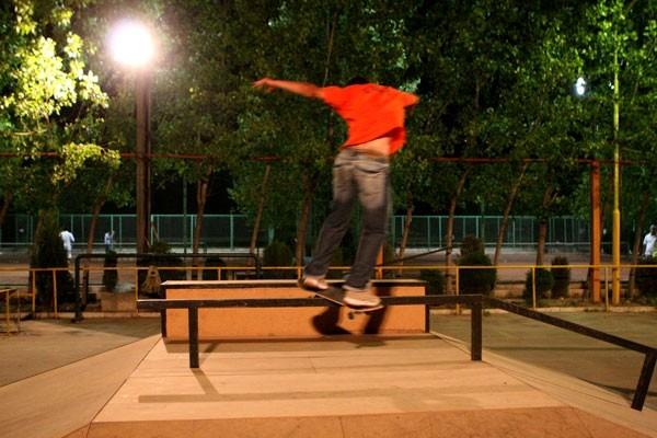 Skate Boarding Boy