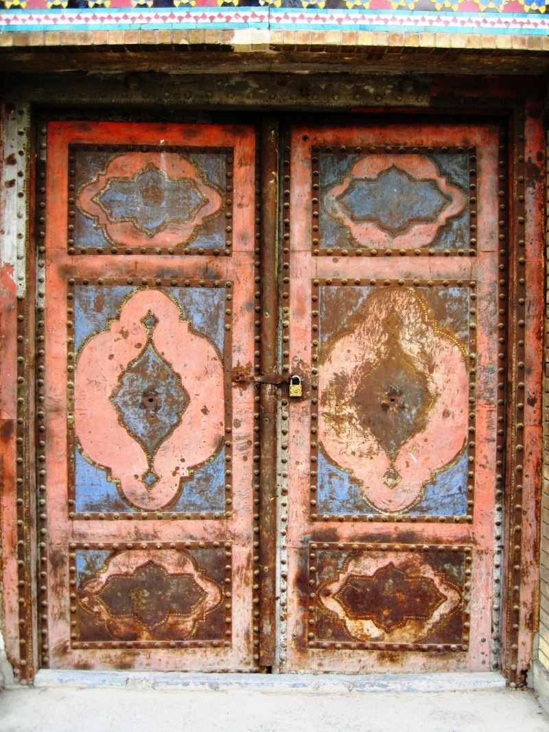 this old door has more than 200 years age