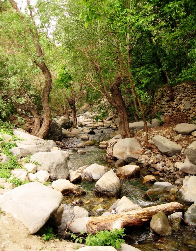 life green stream sangan Kan Tehran