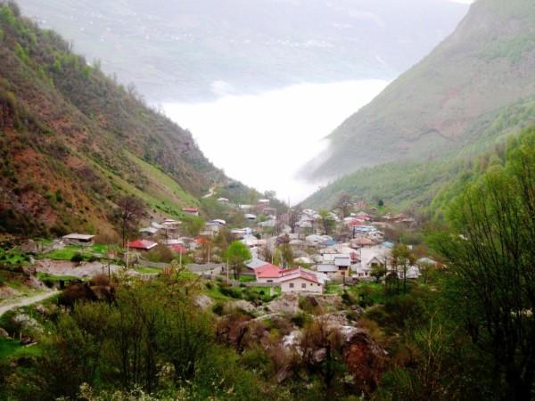 village mazandaran mist sayehroshan