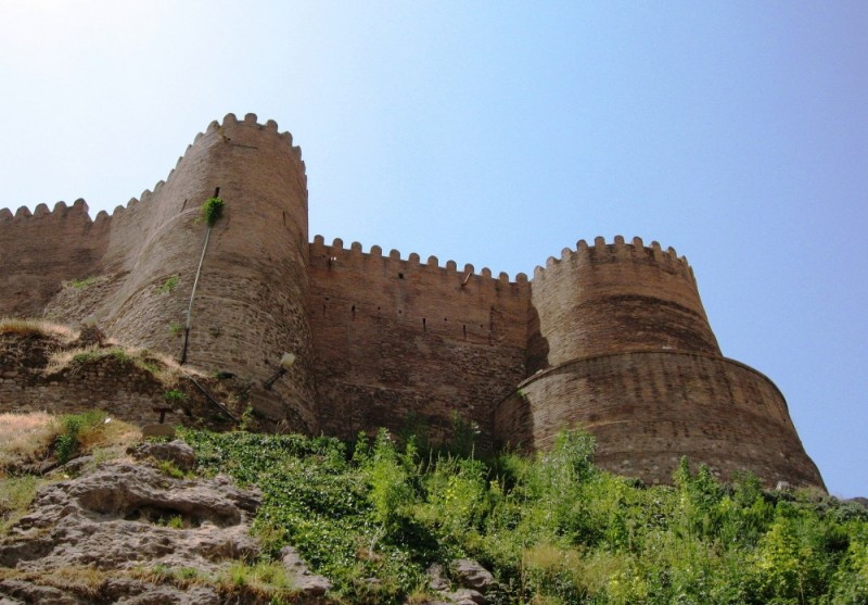 falak-ol-aflak castle dezh khorramabad iran