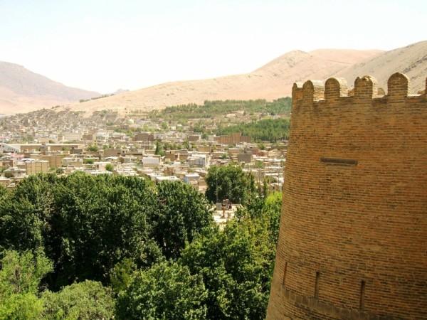 city khorram abad lorestan landscape castle