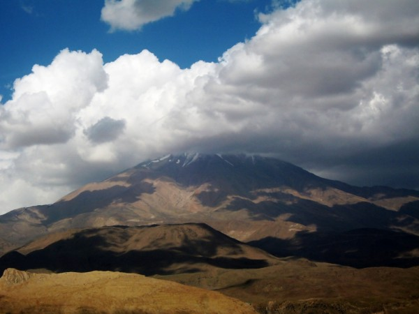 sky cloudy damavand
