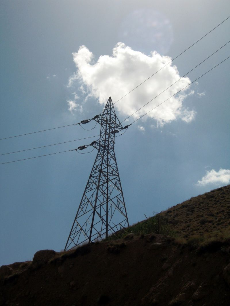 mast tower cloud