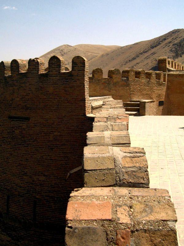 castle wall old Falakolaflaak