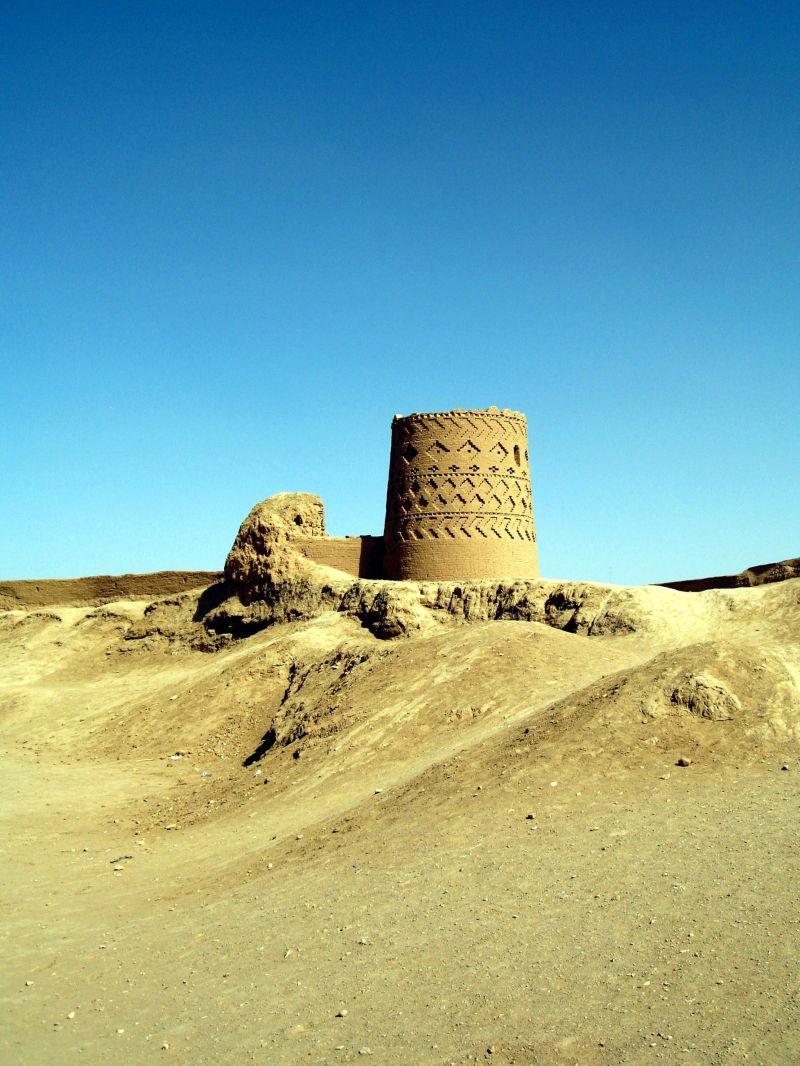 castle narin ghal'eh sasanid