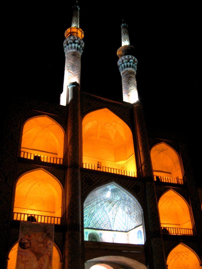 mir chaqmaq yazd mosque