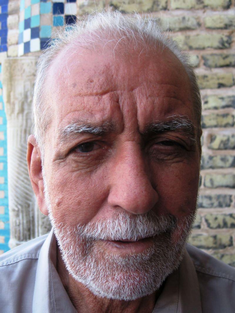 portrait old iraqi man
