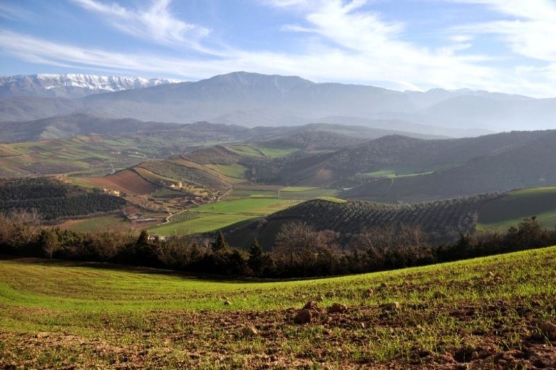 spring landscape iran gorgan