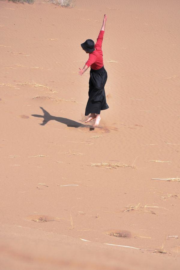 dance desert talk sands