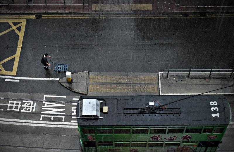 the tram road