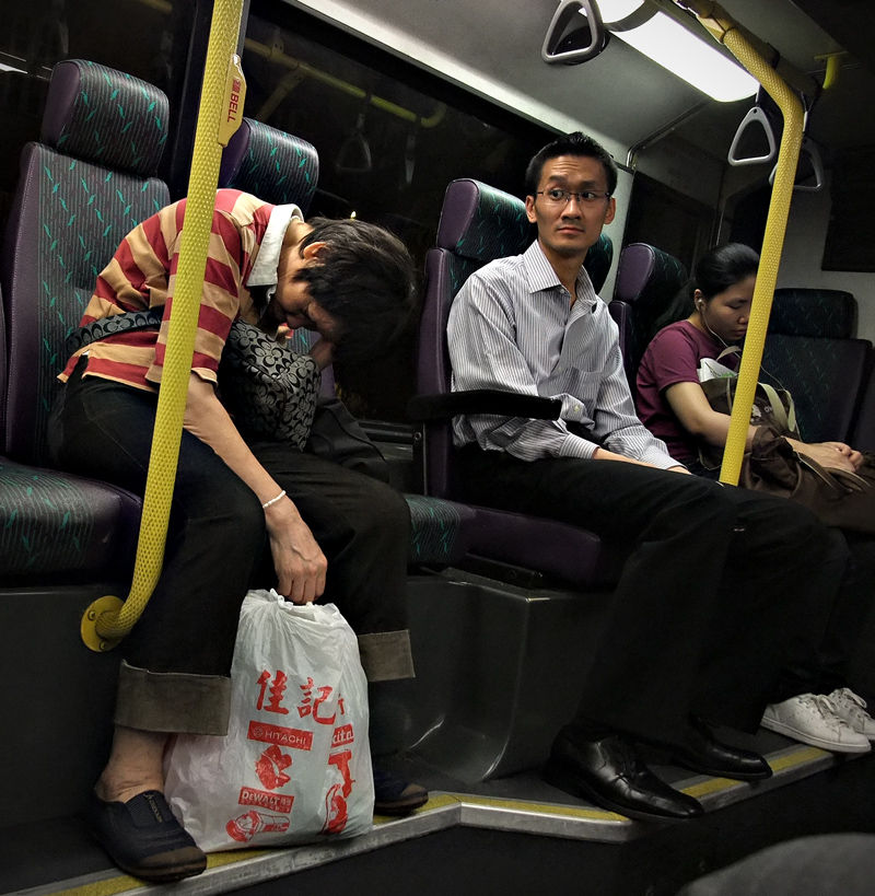 evening bus