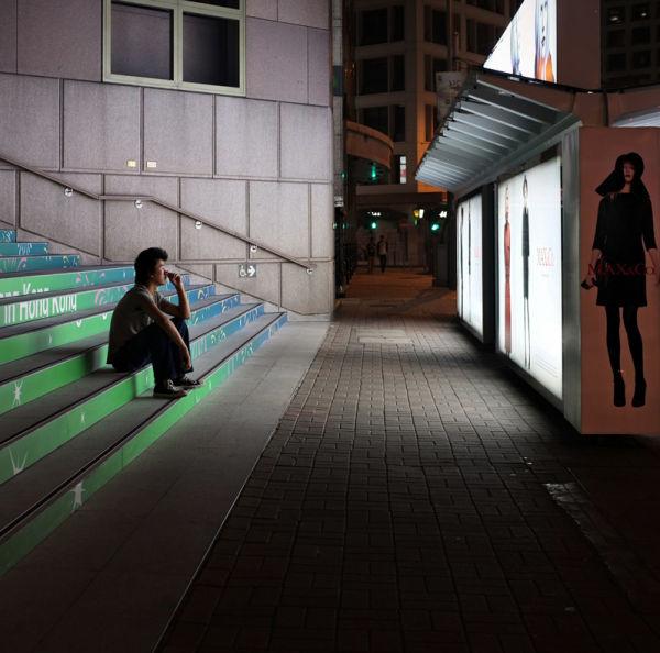 bus stop contemplation...