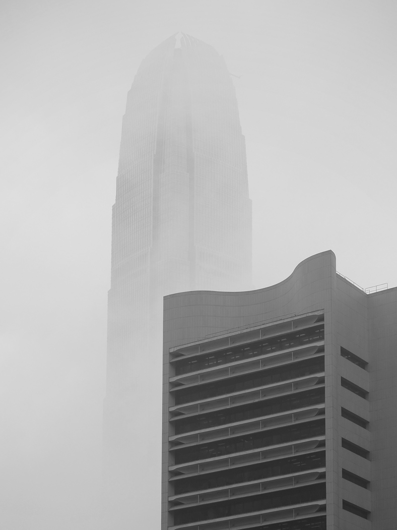 """spring has come..."" (2ifc & hk club building)"