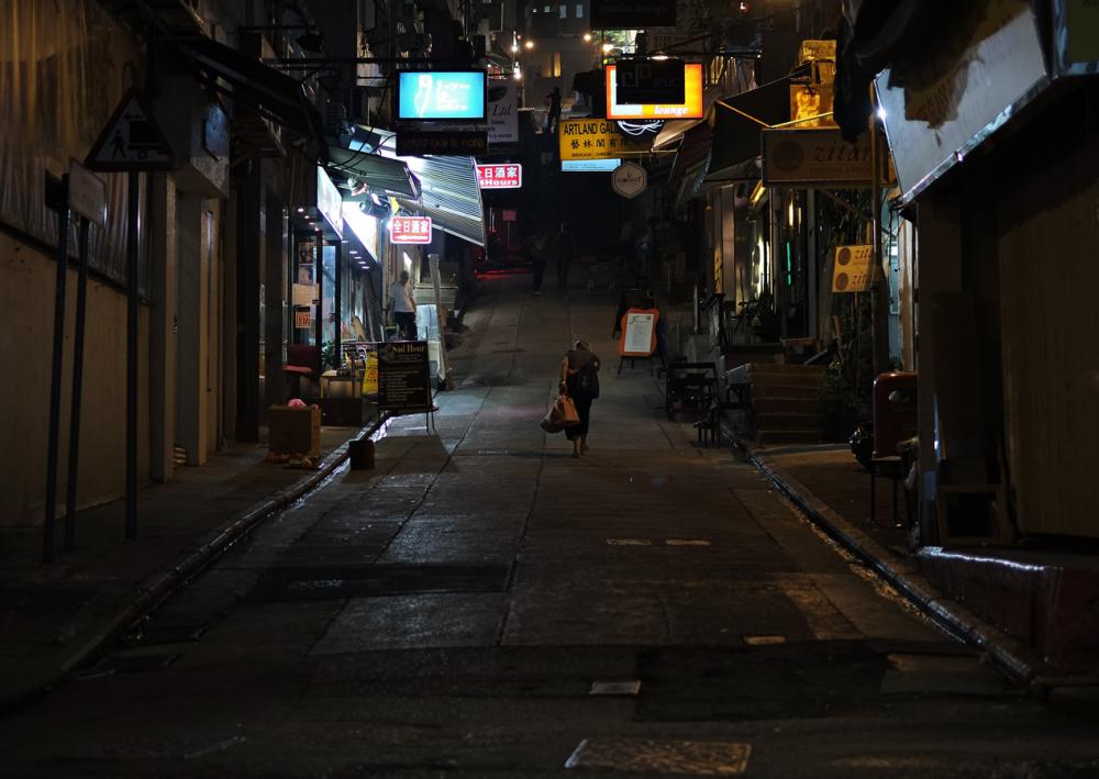 alone ... going home (iii)