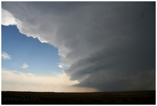rotating supercell thunderstorm