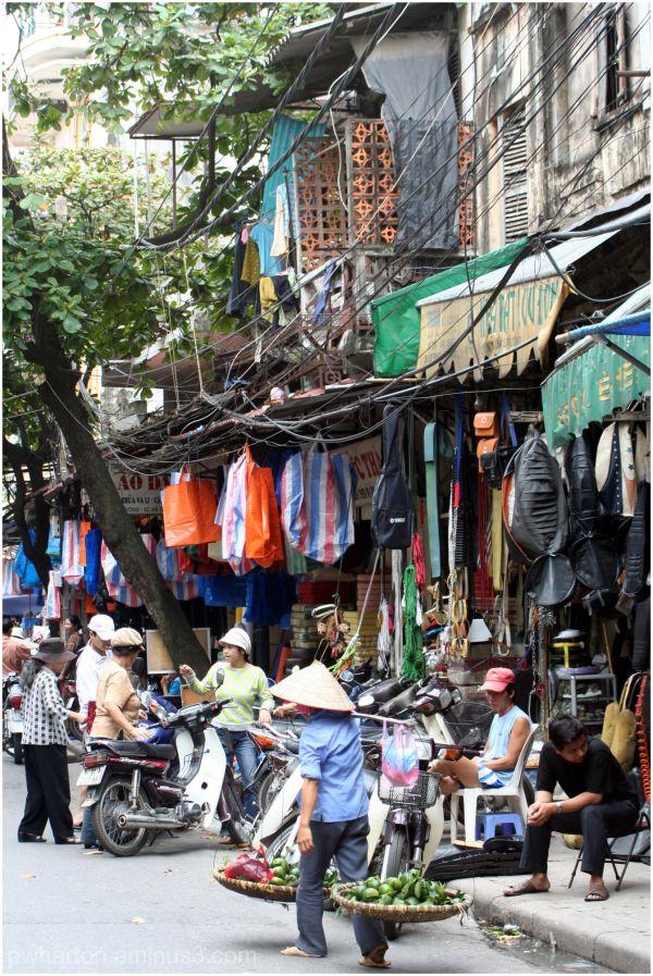 Street scene - Hanoi, Vietnam