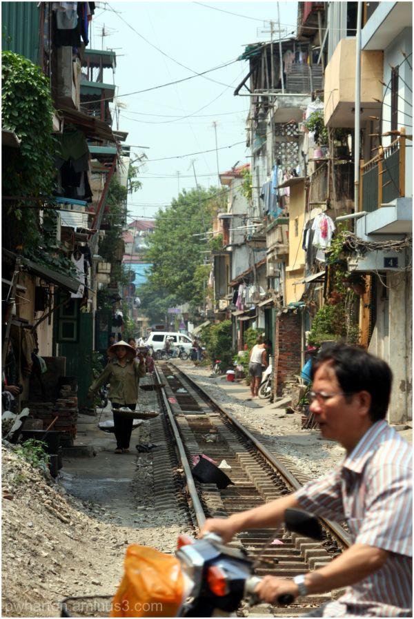 Back in civilisation - Hanoi