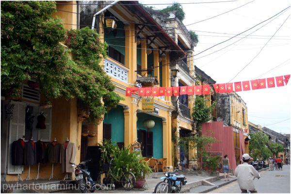 Streetscape in Hoi An - Vietnam