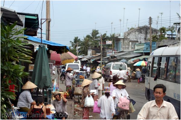 Streetscene - Mekong Delta, Vietnam