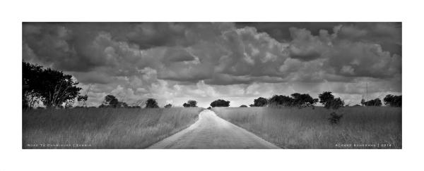 Road to chaminuka