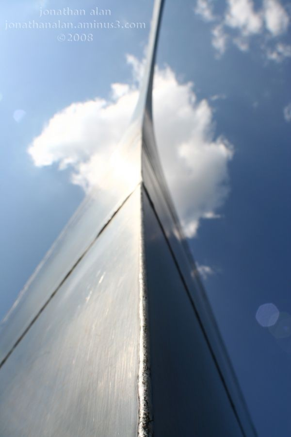 Shot of the St. Louis Arch