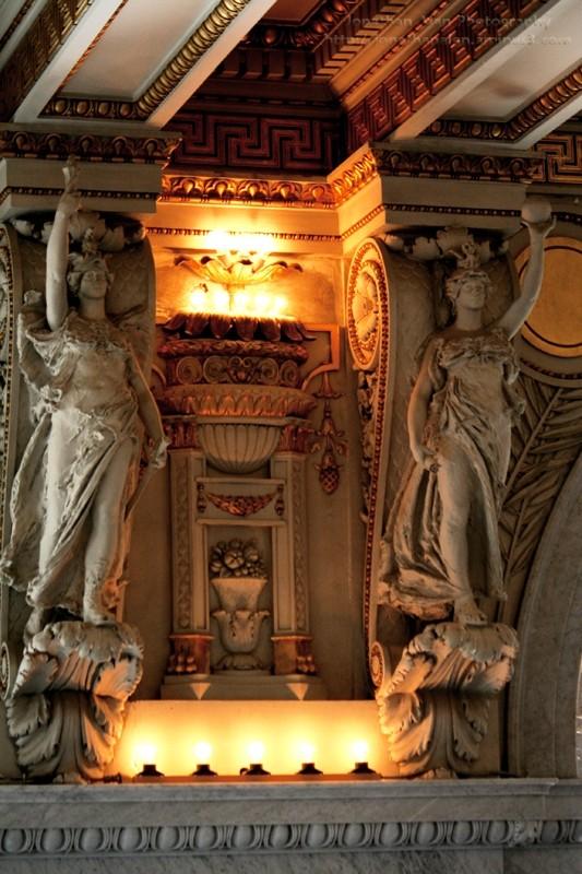 DC Architecture Statues