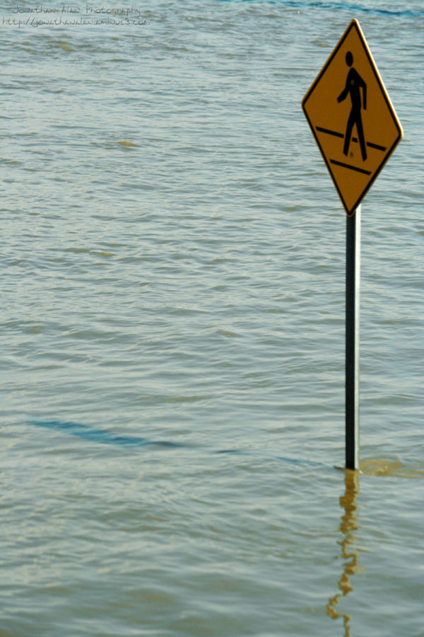 Caution: Walk On Water