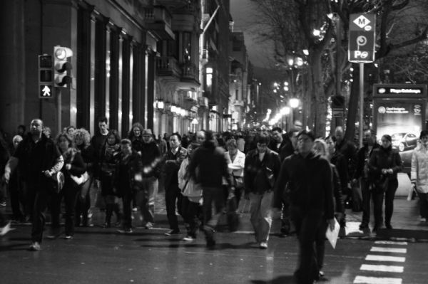 Barcelona 05.02.09, 001#A 20x30