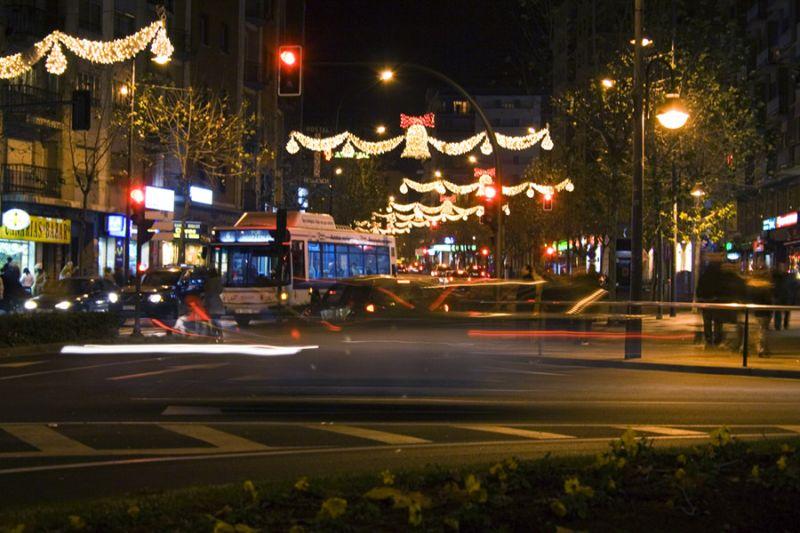 La luz de la Navidad