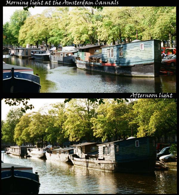 Amsterdam Cannals along day light