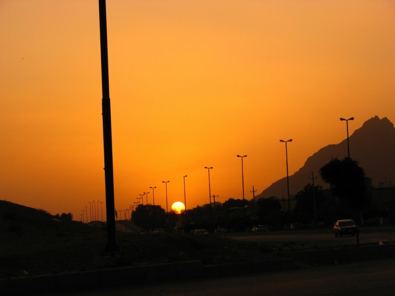 sunset,sad