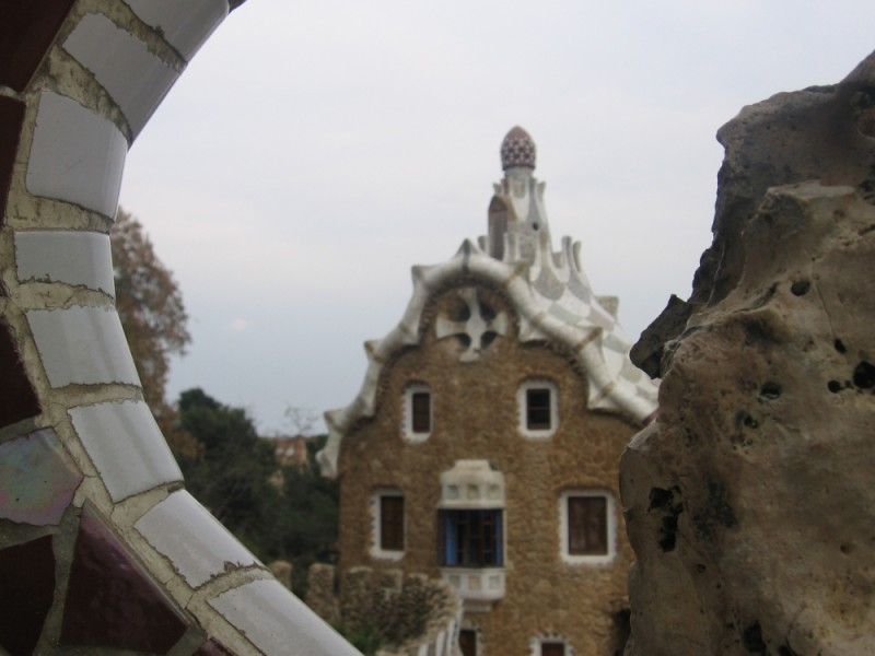 Guell Park in Spain