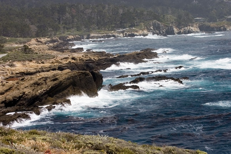 Pt. Lobos on a stormy afternoon