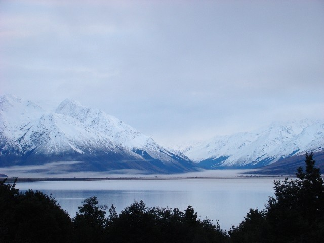 #2 Evening Time at  Lake Ohau