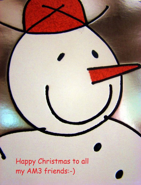 Ok so I like Snowmen:-)