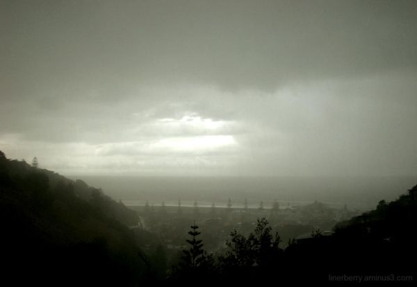 Twas a stormy day