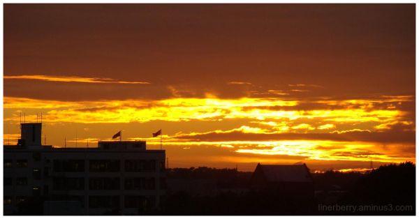 Sunrise over city #2