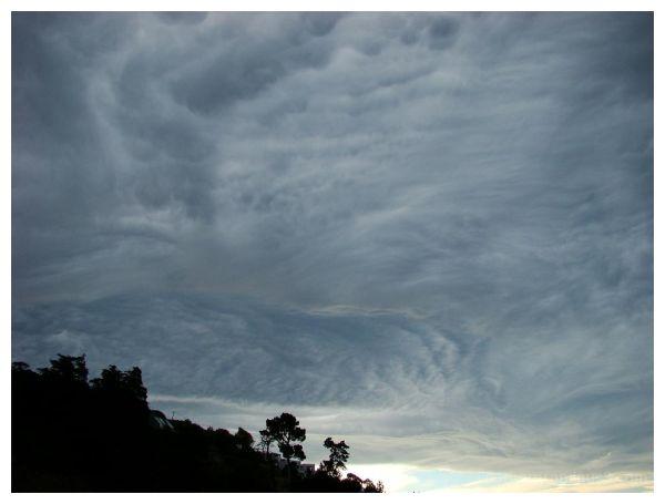 Nor'west clouds