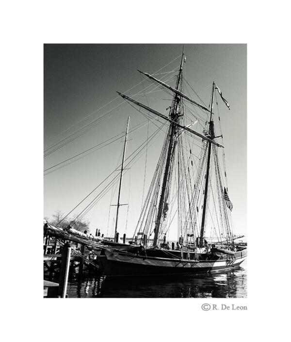 Boat at Docks