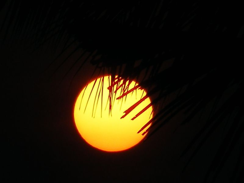 Sunset from my terrace