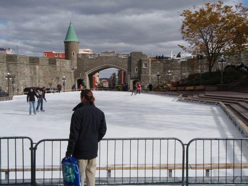 artificial rink, Quebec City