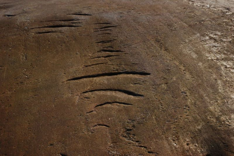 glacial chatter marks
