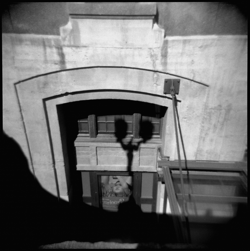 union station, kansas city - b&w holga photo