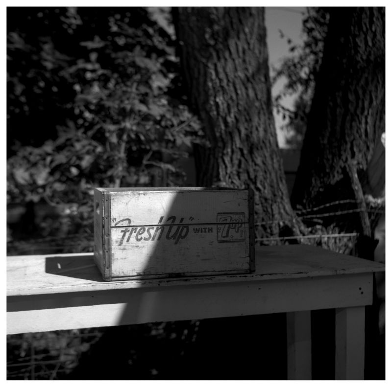 sparks, ks flea market - rolleiflex photo