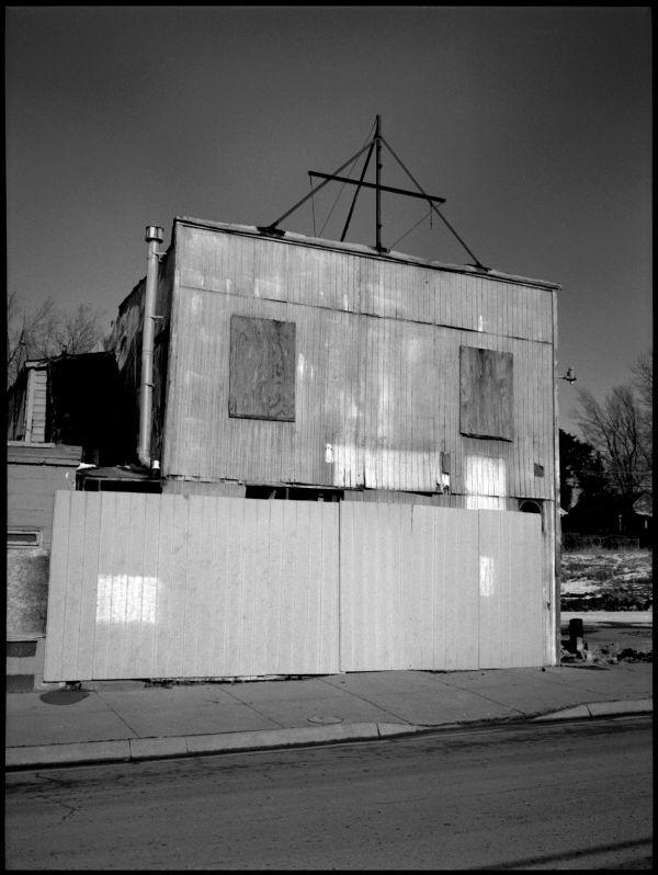 abandoned business, kansas city kansas, photo
