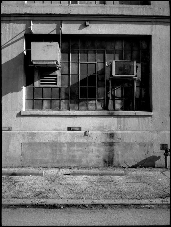 industrial view, b&w photo, nkc missouri
