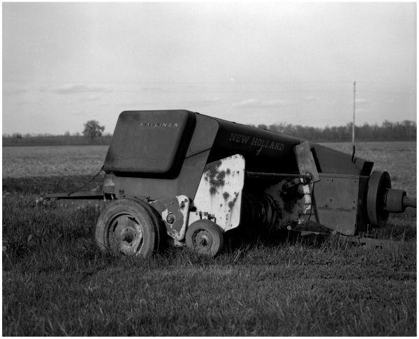kansas farm, hayliner, landscape photo